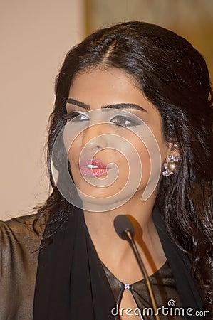 Her Highness Princess Ameerah Al Taweel Editorial Photography