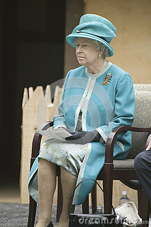 Her Majesty Queen Elizabeth II Editorial Stock Image