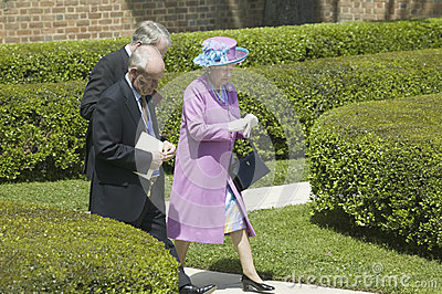 Her Majesty Queen Elizabeth II Editorial Stock Photo