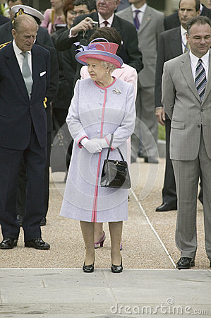 Her Majesty Queen Elizabeth II, Editorial Stock Photo