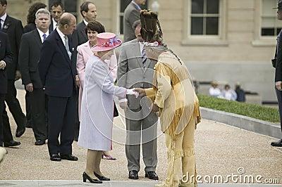 Her Majesty Queen Elizabeth II Editorial Photography