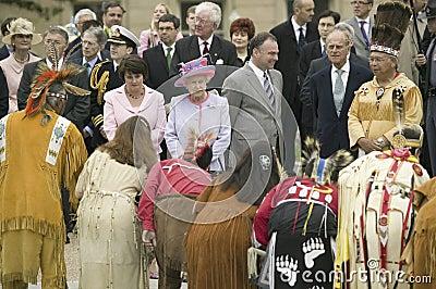 Her Majesty Queen Elizabeth II Editorial Image