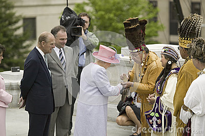 Her Majesty Queen Elizabeth II Editorial Photography