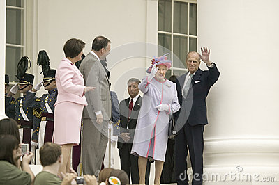 Her Majesty Queen Elizabeth II Editorial Photo