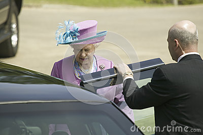 Her Majesty Queen Elizabeth II i Editorial Stock Photo