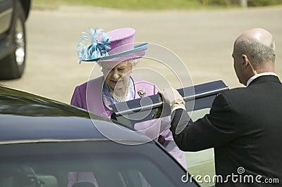 Her Majesty Queen Elizabeth II i Editorial Stock Photo