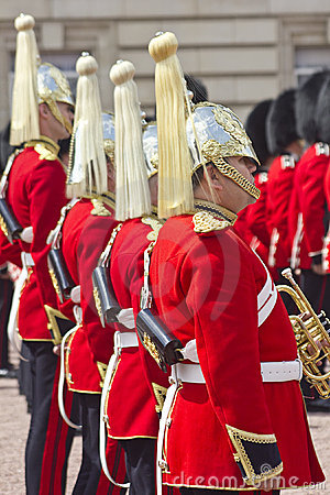 Her Majesty s Coldstream Regiment of Foot Guards Editorial Stock Photo