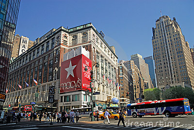Herald Square, New York City Editorial Stock Image