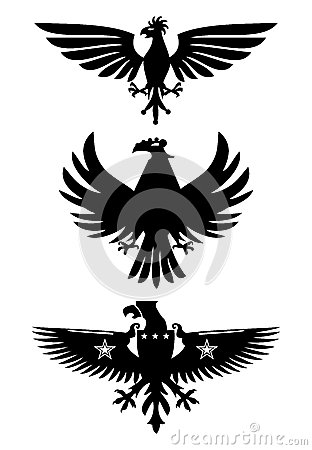 Heraldic birds