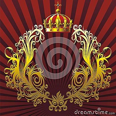 Free Heraldic Composition Stock Photography - 9974092