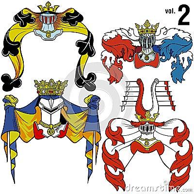 Heraldic Helmets vol.2