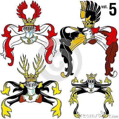 Heraldic Helmets vol.5