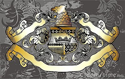 Heraldic label