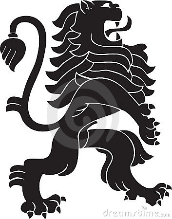 Free Heraldic Lion Stock Images - 7914134