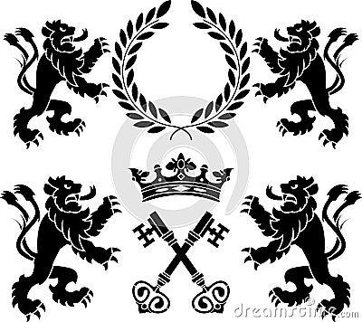 Heraldic monsters