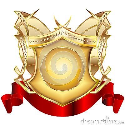 Heraldic shield v.3