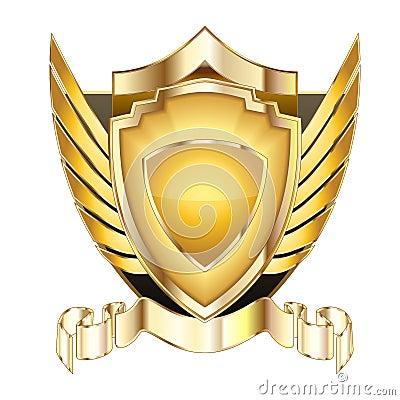 Free Heraldic Shield V.5 Royalty Free Stock Image - 14369036