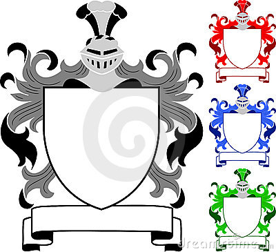 Heraldisch CREST/Wapenschild