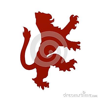 вектор льва heraldry