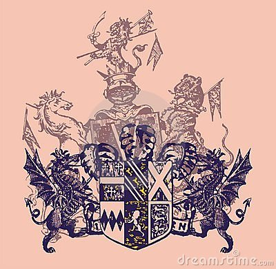 heraldry arming