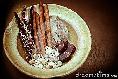 Herb dry variety