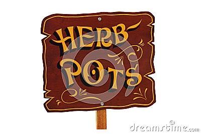 Herb Pots.