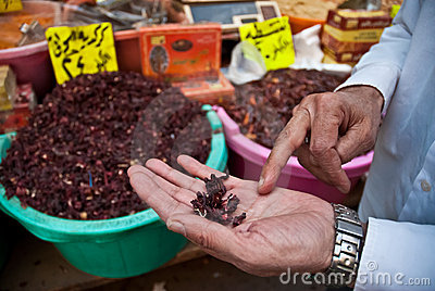 Herb and spice seller