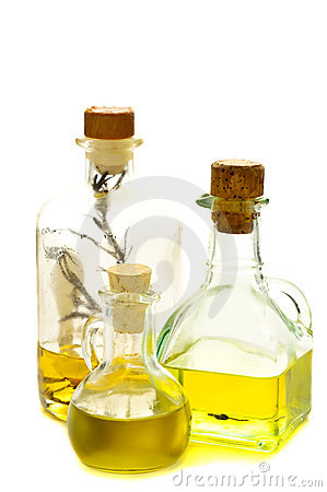 Free Herbal And Olive Oil Stock Photography - 18271862