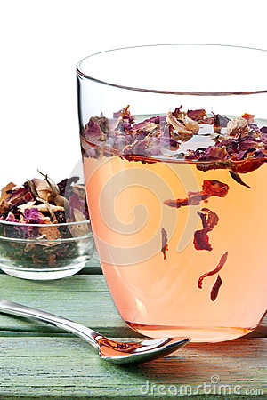 Free Herbal Fruit Tea Cup Royalty Free Stock Image - 50277666