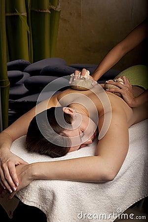 Herbal masage