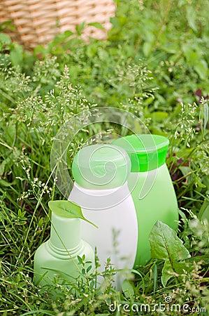 Herbal natural cosmetics