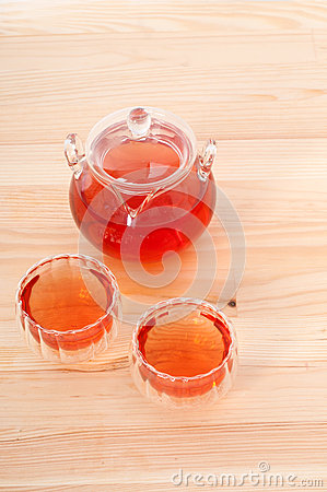 Herbal natural floral tea