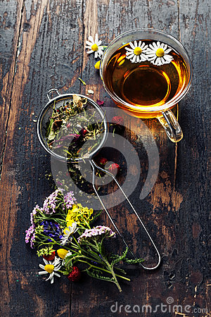 Free Herbal Tea Royalty Free Stock Images - 45008209