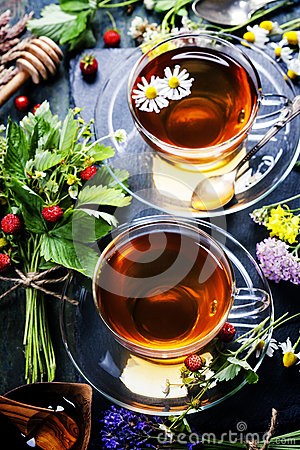 Free Herbal Tea Royalty Free Stock Images - 47948369