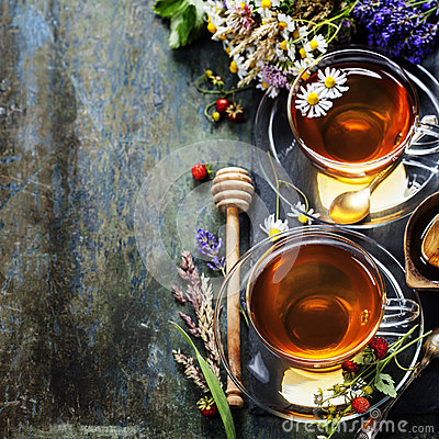 Free Herbal Tea Royalty Free Stock Image - 47948446