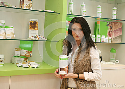 Herbalife / Independent Distributor Editorial Photo