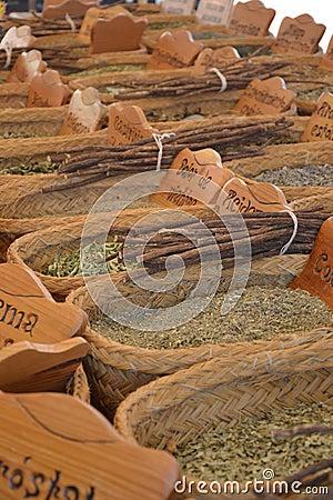 Herbs market