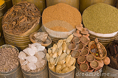 Herbs and Spices in Marrakesh