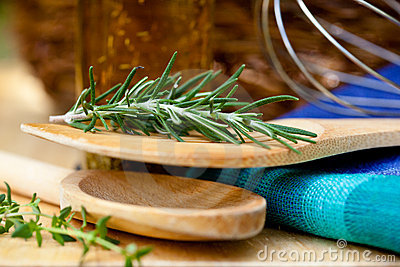 Herbs and Utensils – Cooking