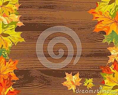 Herbstahornholz