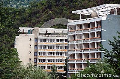Herculane old hotel