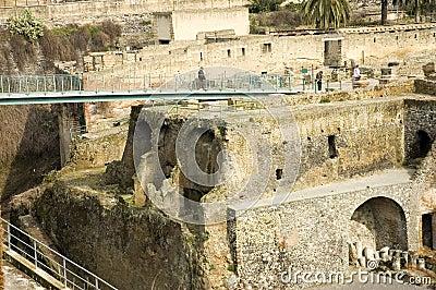Herculaneum excavations 9, Naples, Italy