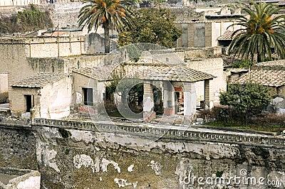 Herculaneum excavations details