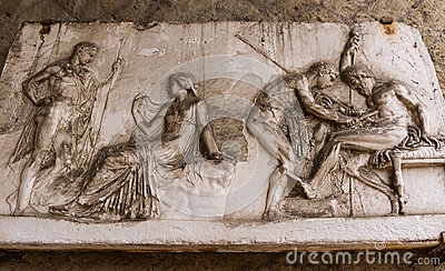 Herculaneum Latin Plaque Stock Photos - Image: 25551813