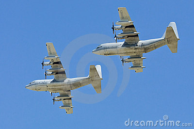 United States Hercules military airplanes Editorial Image