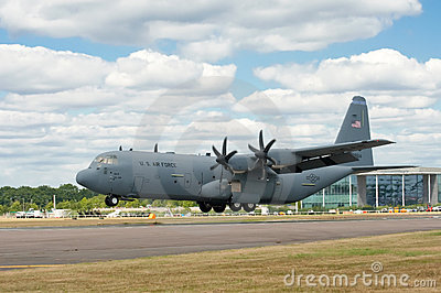 Hercules C-130J Editorial Stock Image