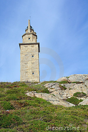 Hercules Tower in Spain