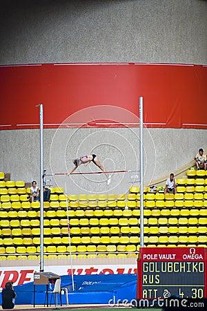 Herculis 2010 - Monaco Editorial Photo
