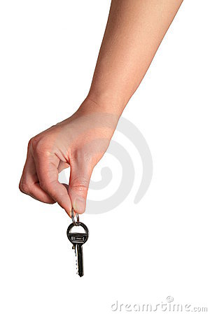 Free Here Is The Key Stock Photography - 4864712