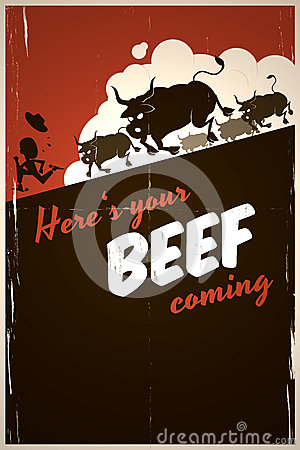 Here is your beef